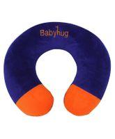 Babyhug Plush Neck Pillow Dark Blue And Orange