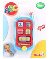 Simba ABC My First Telephone - Blue And Red