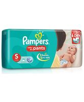 Pampers Pant Style Diapers Light And Dry Small - 46 Pieces