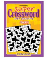 Dreamland Publication Super Crossword 1 - English