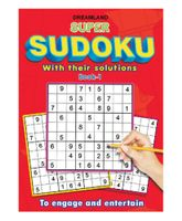 Dreamland Publication Super Sudoku With Solutions Book 1 - English