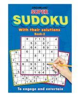 Dreamland Publication Super Sudoku With Solutions Book 2 - English