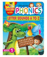 Dreamland Publication Learn With Phonics Book 1 - English