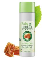 Biotique Bio Honey Cream Sensitive Mommy And Baby Body Wash - 120 ml