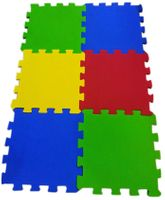 Ultimate Play Mats Multicolor - Width 12 Inches