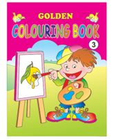 Indian Book Depot map house Golden Coloring Book 3 - English