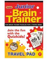 Alligator Books Brain Trainer Series Junior Travel Pad 7+