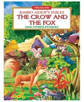 Dreamland Jumbo Aesops The Crow And The Fox - English