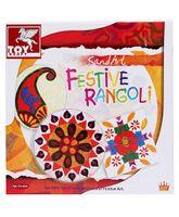 Toy Kraft Sand Art - Festive Rangoli