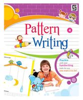 Golden Sapphire Pattern Writing Book 1 - English