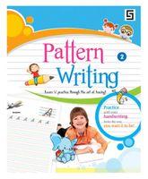 Golden Sapphire Pattern Writing Book 3 - English