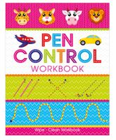 Art Factory Pen Control Wipe And Clean Workbook - English