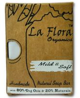 La Flora Organics Baby Soft Handmade Natural Soap Bar - 100 gm