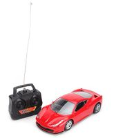 Kumar Toys Radio Control Super 4 Imitate Racing Car - Red