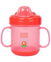 Mee Mee Twin Handle Non Spill Cup (Prints May Vary)