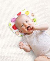 Babyhug Oval Shape Pillow Smiley Print - Multi Color