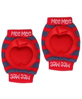 Mee Mee Knee Pad Striped - Red