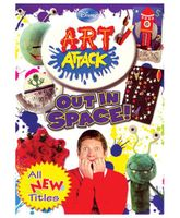 Disney Art Attack Out In Space- English