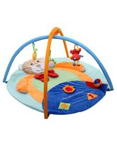 Mee Mee Teddy Deluxe Musical Activity Gym - Blue