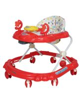 Sunbaby Ride-On Walker With Play Tray - Red