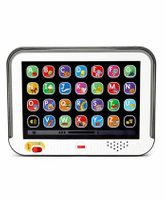 Fisher Price Laugh And Learn Smart Stages Touch Screen Tablet - Grey