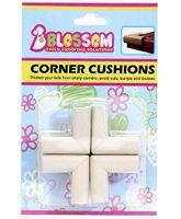 Blossom Child Proofing's Corner Cushions - Off White