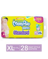 Mamy Poko Standard Pant Style Diapers Extra Large - 28 Pieces