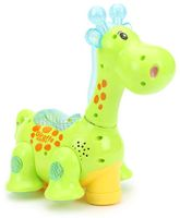 Playmate Giraffe With Projection - Green