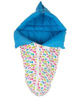 Morisons Baby Dreams Carry Bed Elephant Print - Blue