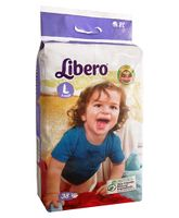 Libero Open Diapers Large - 38 Pieces