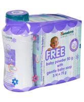 Himalaya Herbal Gentle Baby Soap Pack Of 3 - 75 gm each