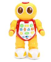 Mitashi Skykidz Edubot Junior Robot Yellow - Length 21.5cm