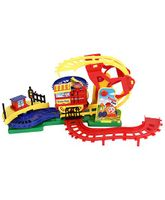 Smiles Creation  Battery Operated Electronic Flip Track Action Set