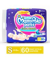 Mamy Poko Extra Absorb Pant Style Diapers Small - 60 Pieces