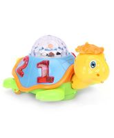 Playmate Happy Turtle With 3D Dream Lighting - Yellow And Green