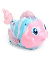 Mitashi SkyKidz Aqua Buddies Funky Fish - Pink