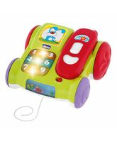 Chicco Musical Pull Along Phone - Green