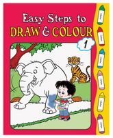 Easy Steps To Draw And Colour Book 1 - English