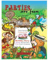Parties Are Fun - English