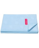 Babyhug Pearl Finish Plastic Bed Protector Sheet Extra Large - Sky Blue