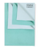 Babyhug Smart Dry Bed Protector Sheet Mint Green - Medium