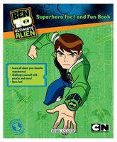 Ben 10 Superhero Fact And Fun Book - English