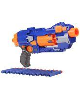 Mitashi Bang Hawk Toy Gun - Blue And Orange