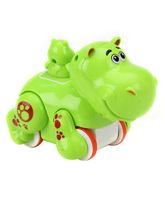 Smiles Creations Funny Animal Hippo - Green