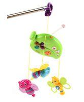 Mitashi Skykidz Fun Animal Musical Mobile - Green