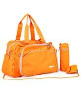 My Milestones Diaper Bag Duo Detach - Orange