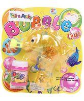 Fish Shape Bubble Gun - Yellow