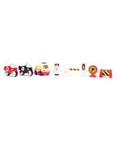 Musical Toy Vehicles Set - Multi Color