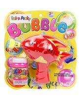 Fish Shape Bubble Gun - Red