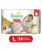 Pampers Premium Care Pant Style Diapers Large - 38 Pieces